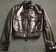 burberry leather jacket women