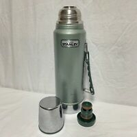 Vintage Aladdin Stanley Thermos W/ Handle 32oz [COMPLETE- W/ TOPPER AND STOPPER]