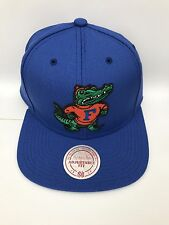 Mitchell & Ness NZ981Florida Snapback Wool Solid Cap Hat