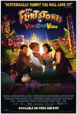 THE FLINTSTONES IN VIVA ROCK VEGAS Movie POSTER 27x40 Mark Addy Kristen Johnston