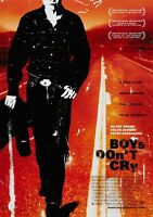 BOYS DON'T CRY Classic 90's Vintage Movie Poster - Wall Film Art Print - Hilary
