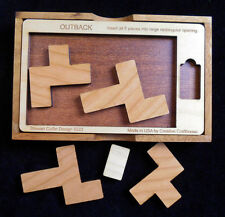 OUTBACK puzzle wood brain teaser -Stewart Coffin design #222