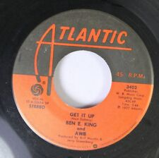 Soul 45 Ben E. King - Get It Up / Keepin' It To Myself On Atlantic