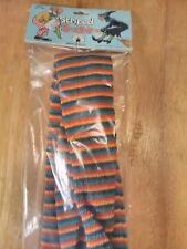 Striped Socks Multi Color Stockings Costume Accessory Adult Halloween