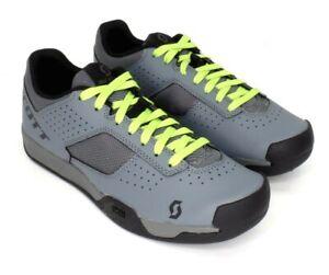 Scott MTB AR Mountain Bike Flat Pedal Shoes Gray Men's Size 12.5 US / 47 EU