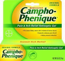 5 Pack - Campho-Phenique Pain Relieving Gel 0.50oz Each