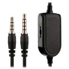 2m Replacement Astro Gaming Headset Mobile Aux Cable w/ Mute + Volume A30 A40