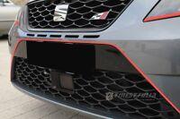 Neon Rot Folie Stripe für Seat Leon 3 III SC Cupra ST RS FR ST  IV Ibiza SC 6J