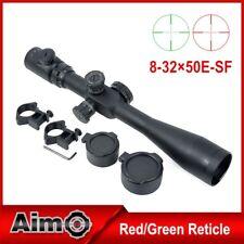 AIMO AIM 8-32x50E-SF Sniper Rifle Scope OTTICA QUALIT NERA BLACK SOFTAIR AIRSOFT
