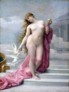 Birth of Venus girl by A. Cabanel Tile Mural Kitchen Backsplash Marble Ceramic