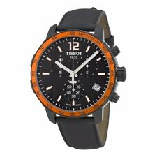 Tissot Quickster Soccer World CupBlack Silicone Mens Watch TIST0954173605701