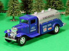 Die Cast 1934 Ford Benzol Tanker O Scale 1:43 by Metalic Team 34 Ford Tanker