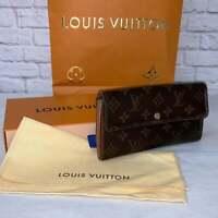 Louis Vuitton Sarah Monogram Wallet Zippy Porte Speedy Neverfull Purse AUTHENTIC