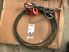 LIFT-ALL 58I2LBX14 Sling, Wire Rope, 14 Ft L, 13600 Lb @ 60