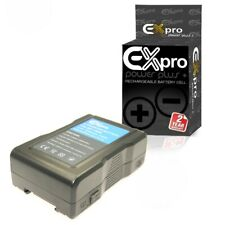 Ex-Pro BP-150W 150Wh Li-ion Sony V Lock V-Mount Battery Rechargeable Camcorder
