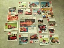 Lego 4,5 V / 12 V Eisenbahn / Häuser / Figuren von 1970 6,6 Kg Auflösung