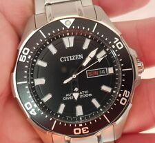 Citizen Promaster Titanium Automatic Marine 200 Meters Divers Watch...superb