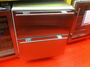 "27"" Subzero Under Counter Refrigerator Drawers 700BR-3 (Used 2011 Model)"