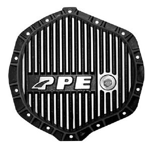 PPE Heavy Duty Rear Aluminum Differential Cover Brushed for Chevy GMC 138051010