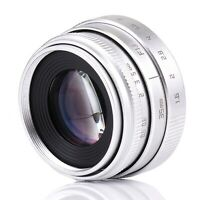 FUJIAN 35mm f/1.6 C-mount CCTV Lens for NEX FX EOSM FX M4/3 mount series camera