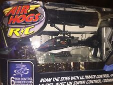 AIR HOGS R/C Remote Control JACKAL - Black Air hogs helicopter. New In Box.