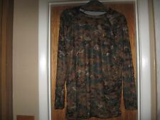 Camo Mens Xxl Ironclad 1st Layer Form Fit Long Sleeve Performance Workwear Camo
