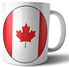 Canada Canadian Flag Tea - Coffee - Mug - Cup - Birthday - Christmas - Gift