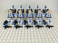 Star Wars 501st Legion Clone Trooper Minifigures Army Lot of 10 - USA SELLER