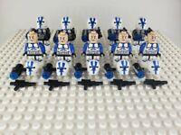 Star Wars 501st Legion Clone Trooper Minifigures Army Lot of 10 - USA SELLER