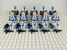 Star Wars 501st Legion Clone Trooper Minifigures Lot of 10 (Not Made by Lego)