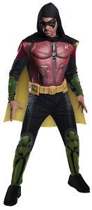 Robin Arkham Adult Mens Costume Classic Movie Superhero Theme Party Halloween