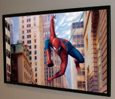 "150"" Pro Grade 2.35:1 Projector Screen Bare Projection Material Usa Made & Sold!"