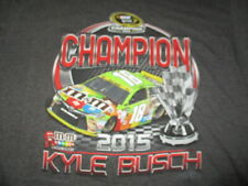 2015 KYLE BUSCH M&M's NASCAR Sprint Champion JOE GIBBS RACING (3XL) T-Shirt Tags