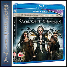 SNOW WHITE AND THE HUNTSMAN - COLLECTORS ED  * BRAND NEW BLU-RAY REGION FREE**