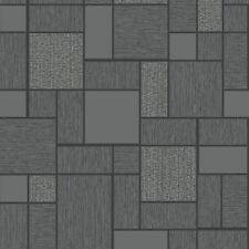 89240 Tiling On A Roll Black Grey Silver Glitter Tile Effect Wallpaper By  Holden Part 84