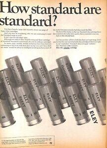Original Vintage 1970s Eley Cartridge Advert - Shooting Times Mag 22 April 1972