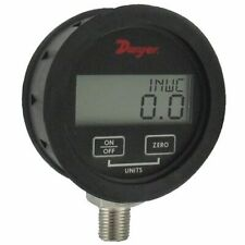 Dwyer Dpgwb 08 Digital Pressure Gauge 0 To 100 Psi For Liquidgas With 05