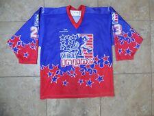 VTG IIHF World Championship #23 USA Hockey In Line Jersey XXL 52 Game Worn?