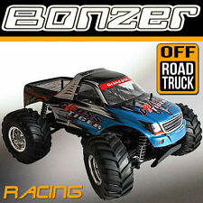 2.4 GHz HBX MONSTERTRUCK BONZER CROSS TIGER TRUCK BUGGY OFFROAD GELÄNDE AU1 BLAU