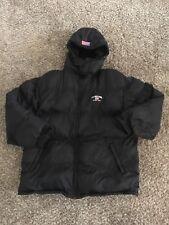 US Polo Assn. Men's winter jacket XXL black puffer style America Flag Since 1890