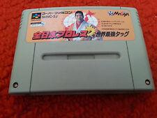 SFC. Zen Nippon Pro-Wrestling Dash (NTSC JP SNES) SHVC-2J