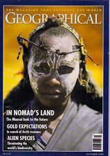 the geographical magazine-OCT 1999-IN NOMAD'S LAND-THE MAASAI LOOK TO THE FUTURE