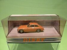 DINKY TOYS DY3B MG B GT 1965 - ORANGE 1:43 - GOOD CONDITION IN BOX