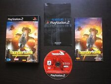 THUNDERHAWK Operation Phoenix : JEU Sony PLAYSTATION 2 PS2 (hélicoptère COMPLET)