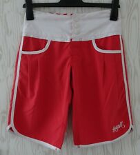 "ANIMAL  ~ SURF BOARD SHORTS ~ SIZE 8 / 26"" ~ SHIMA RANGE ~ RED ~ FREESTYLE ~BNWT"