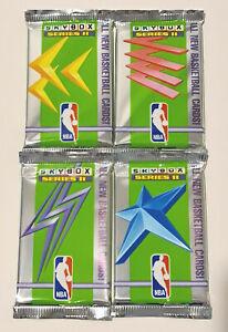 1991-92 Skybox NBA Basketball 4-Pack Series 2 Lot - Brand New & Sealed Packs