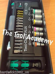Wera Last Few Left Zyklop Mini Bit Ratchet Driver Socket Tool Check Plus 1/4 Dr