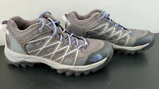 TNF The North Face Storm III Hiking Shoes, Women's Size 8, Gray/Purple!