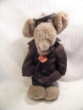 Commonwealth Toys Touchables U Dirty Rat Plush Toy 1987 Adrienne Weiss