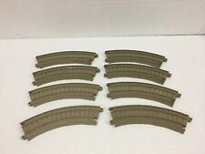 Thomas 8 Curved Trackmaster Tracks for Motorized Trains FREE Shipping!